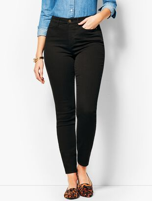 Denim Jegging - Curvy Fit/Black