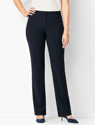 Seasonless Wool Barely Boot Pants - Curvy Fit