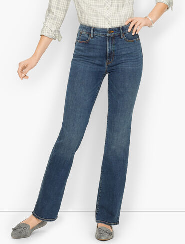 Barely Boot Jeans - Champlain Wash - Curvy Fit