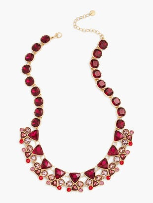 Gemstone Statement Necklace