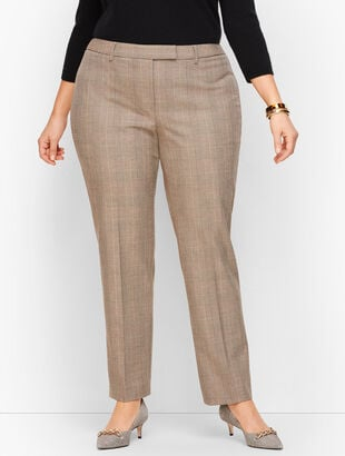 Modern Bi-Stretch Pants - Houndstooth