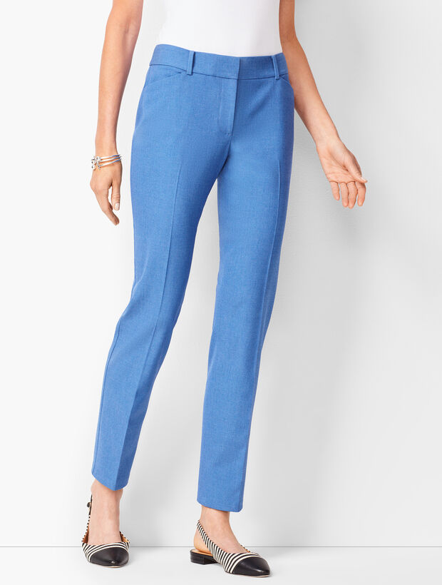 Talbots Hampshire Ankle Pants -  Diamond Blue Chambray