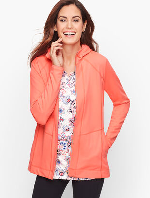 On the Move Stretch Hooded Jacket