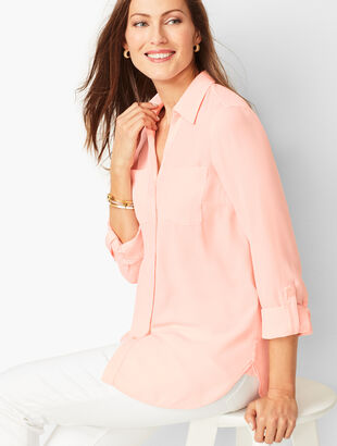 Soft Cutaway Blouse - Solid