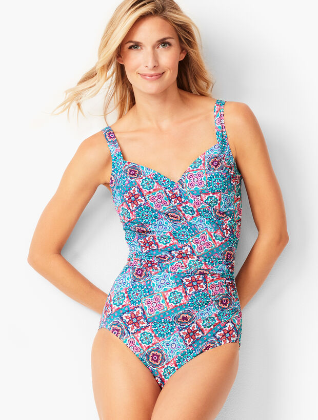 Miraclesuit(R) Sanibel One-Piece - Paisley