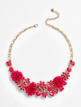 Anemone Statement Necklace