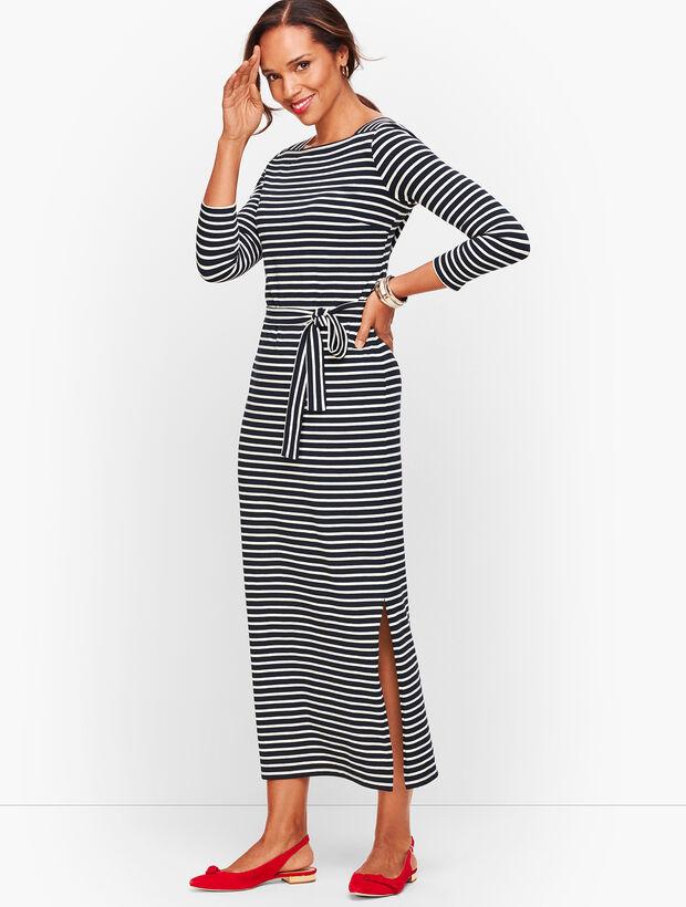 Jersey Maxi Dress - Stripe