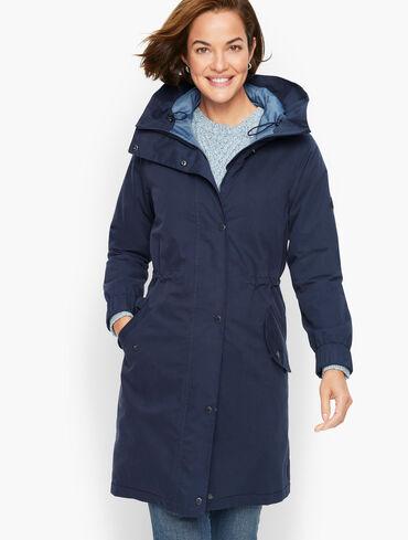 Barbour Hauxley Hooded Raincoat