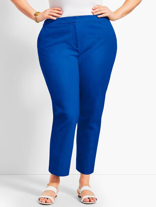 Plus Size Exclusive Talbots Hampshire Ankle Pant - Curvy Fit