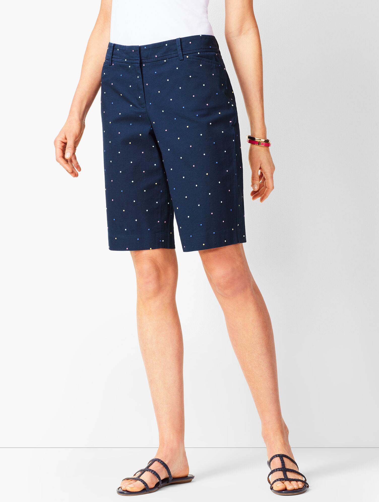 Perfect Shorts Length Bermuda Dot Shorts Perfect Bermuda oBCxeWrdQ