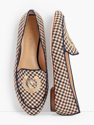 Ryan Keeper Loafers - Piped Plaid