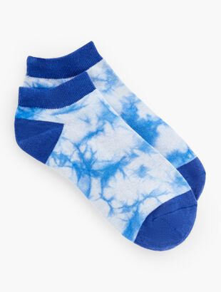 Tie Dye Ankle Socks