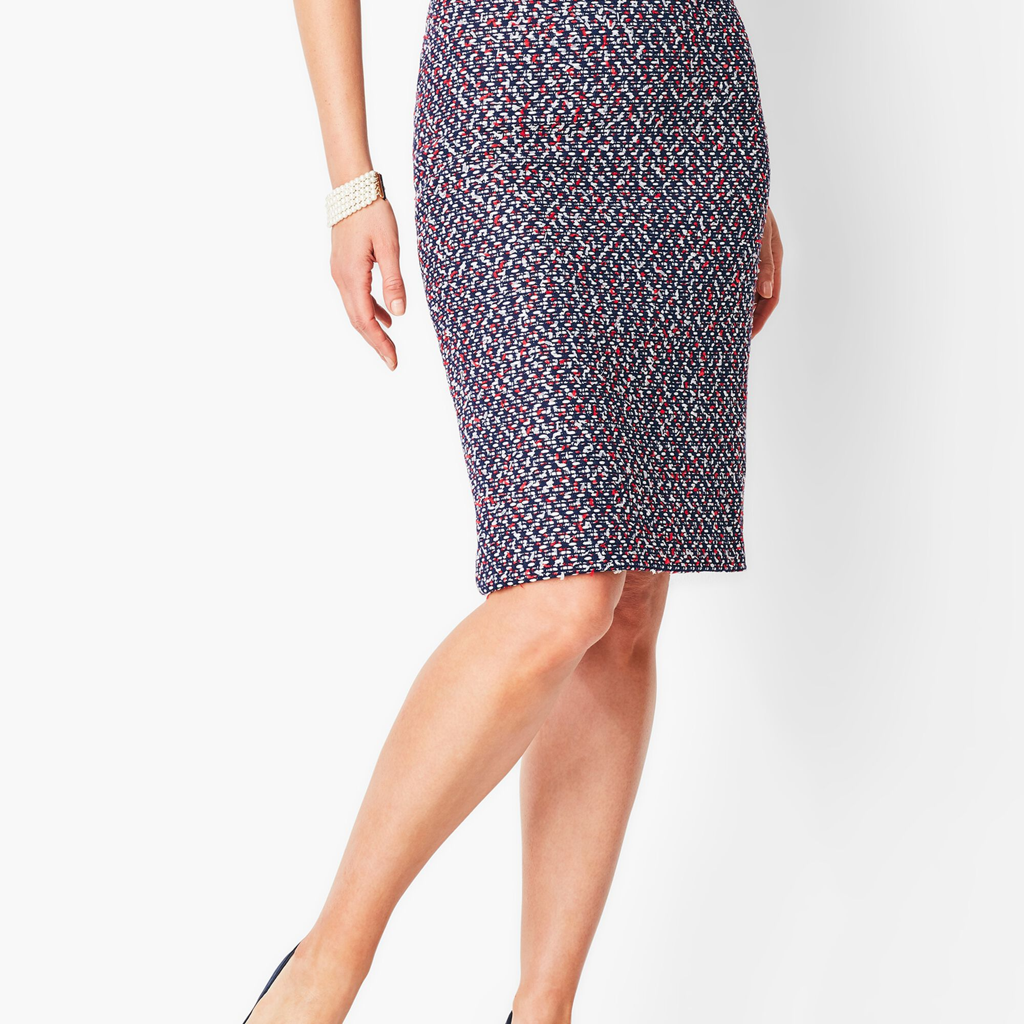 90ac6900b6 Tweed Pencil Skirt Opens a New Window.