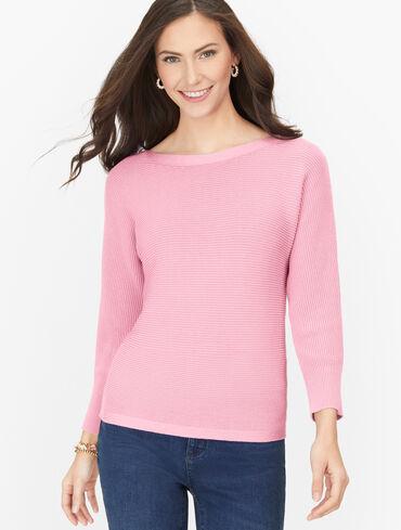 Dolman Sleeve Sweater - Solid