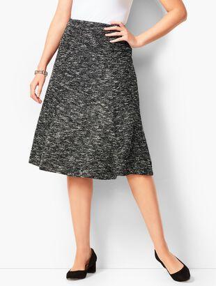 Tweed Knit Skirt