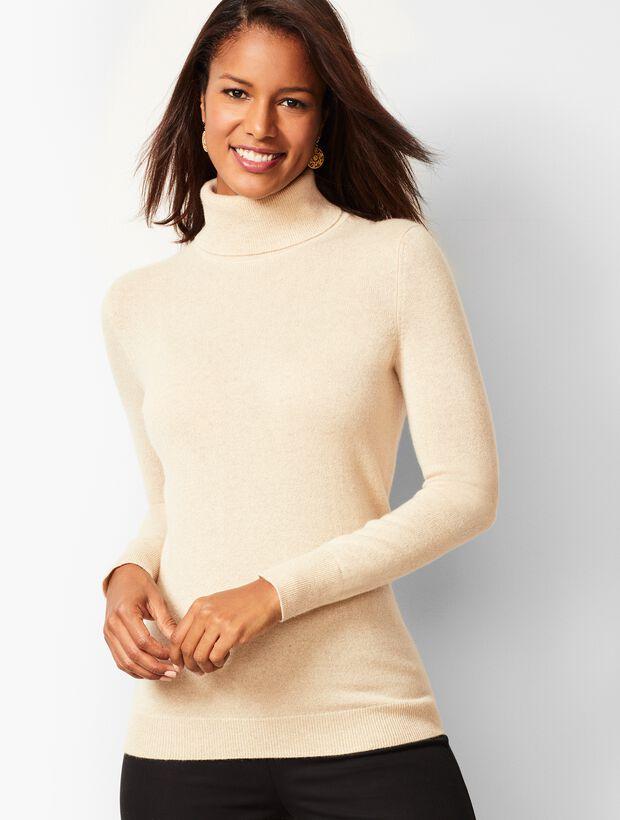 Cashmere Turtleneck Sweater - Shimmer
