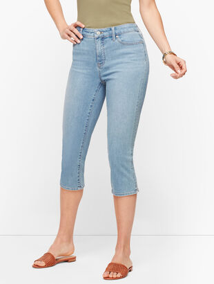 Pedal Pusher Jeans - Curvy Fit - Sunnyside Wash
