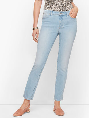 Slim Ankle Jeans - Skillman Wash
