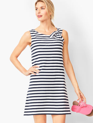 Stripe Beach Cover-Up