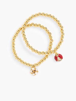 Ladybug Stretch Bracelet