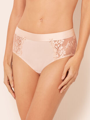 Cotton Lace Brief Panty