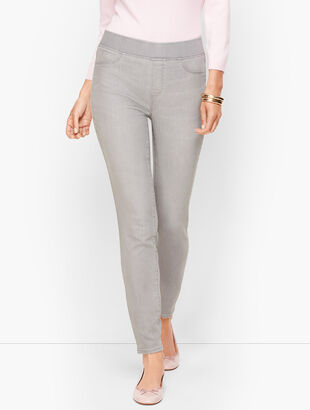 Sculpt Jeggings - Mercury Grey Wash