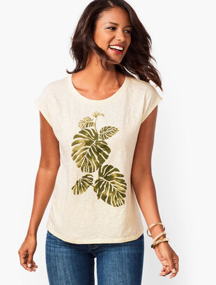 Botanical Leaves Tee