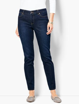 Slim Ankle Jeans - Indy Wash