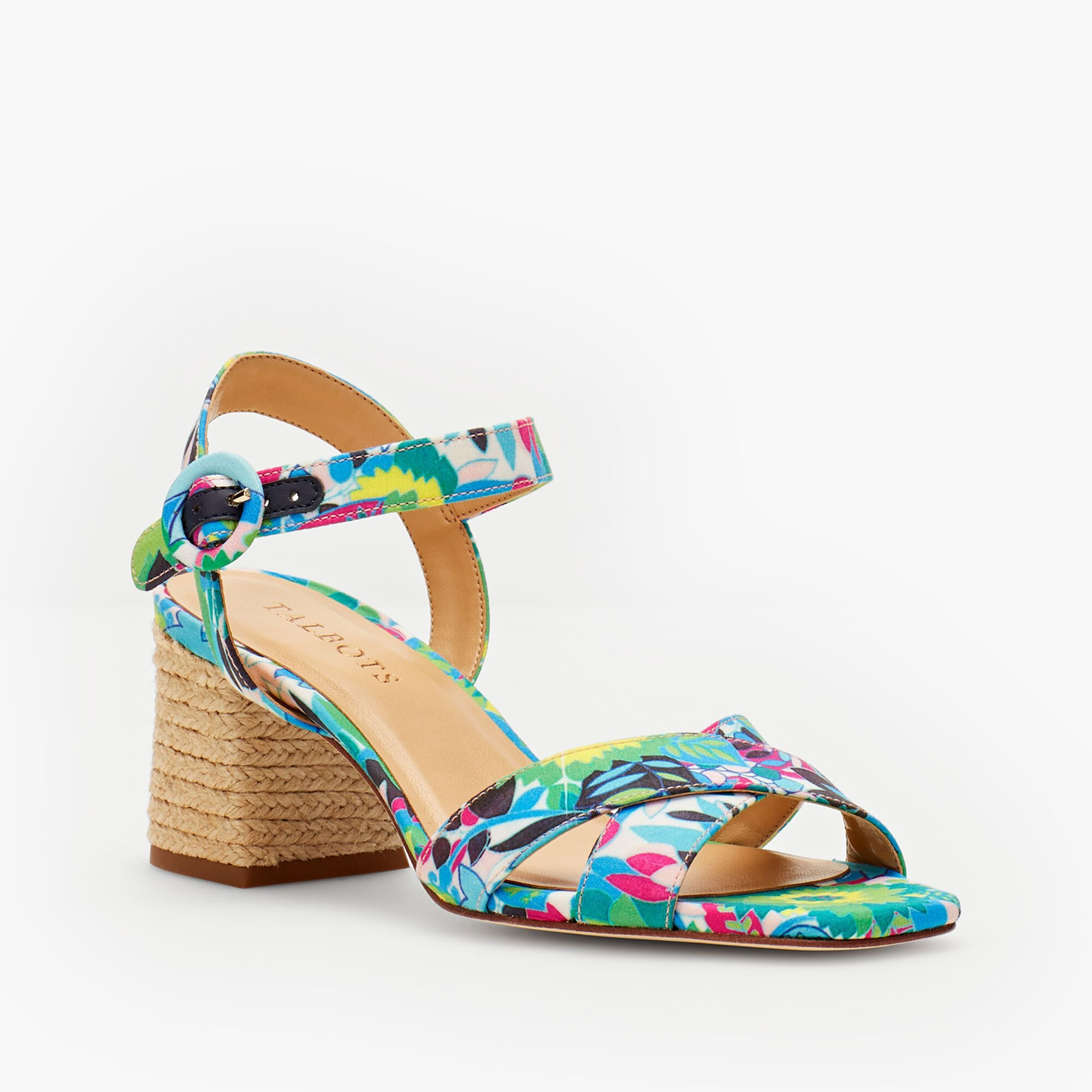 db682211cb Siena Rope Heel Sandal - Printed Twill Opens a New Window.