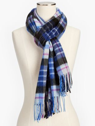 Cashmere Scarf - Glen Plaid