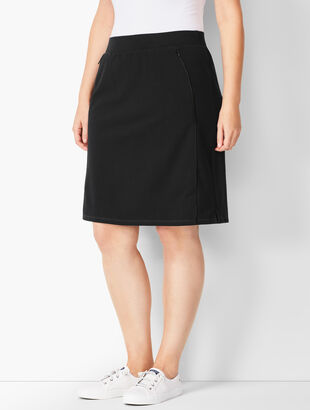 Piped Everyday Yoga Skort - Solid
