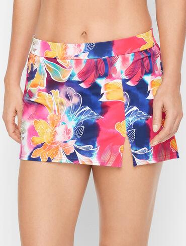 Miraclesuit® Vented Swim Skirt - Watercolor Floral