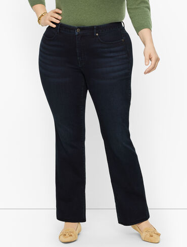 Plus Size Exclusive Barely Boot Jeans - Starlight Wash - Curvy Fit