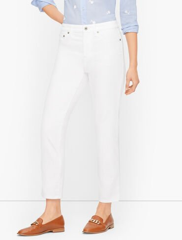 Modern Ankle Jeans - Solid