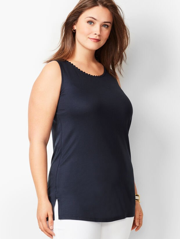Plus Size Tunic Tank