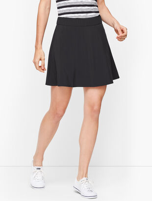 Lightweight Stretch Woven Skort