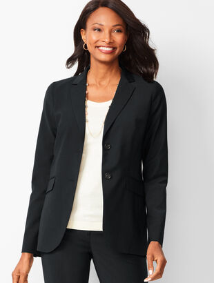 Seasonless Wool Two-Button Blazer