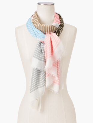 Chevron Stripe Scarf