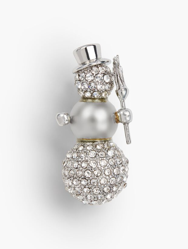Holiday Brooch Collection - Snowman