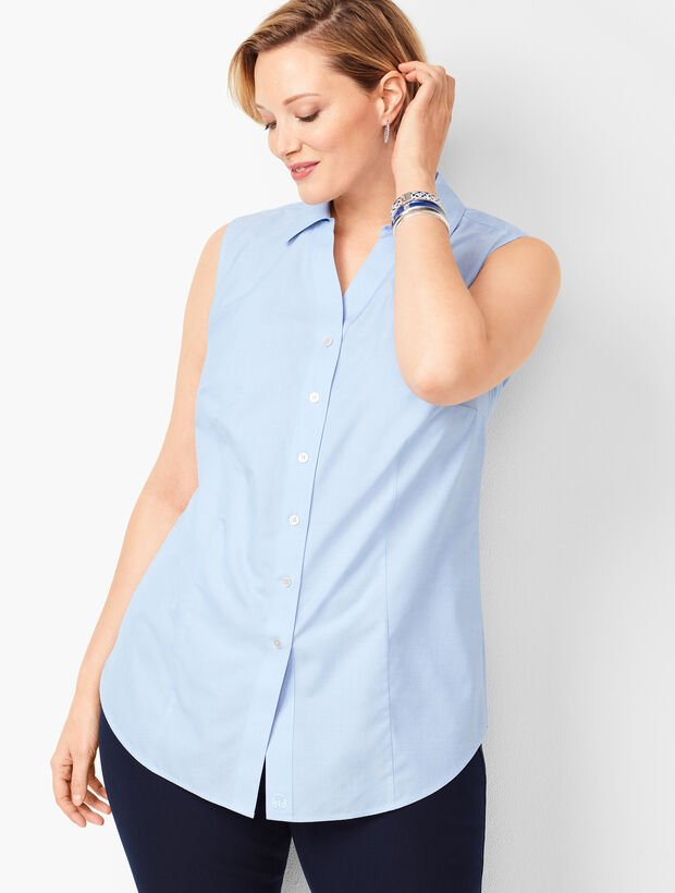 Perfect Shirt - Sleeveless - End on End