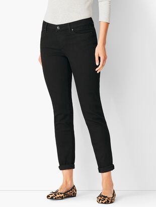 Girlfriend Jeans - Black