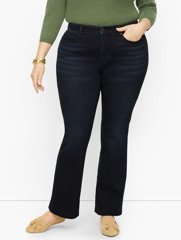 Plus Size Exclusive Barely Boot Jeans - Starlight Wash