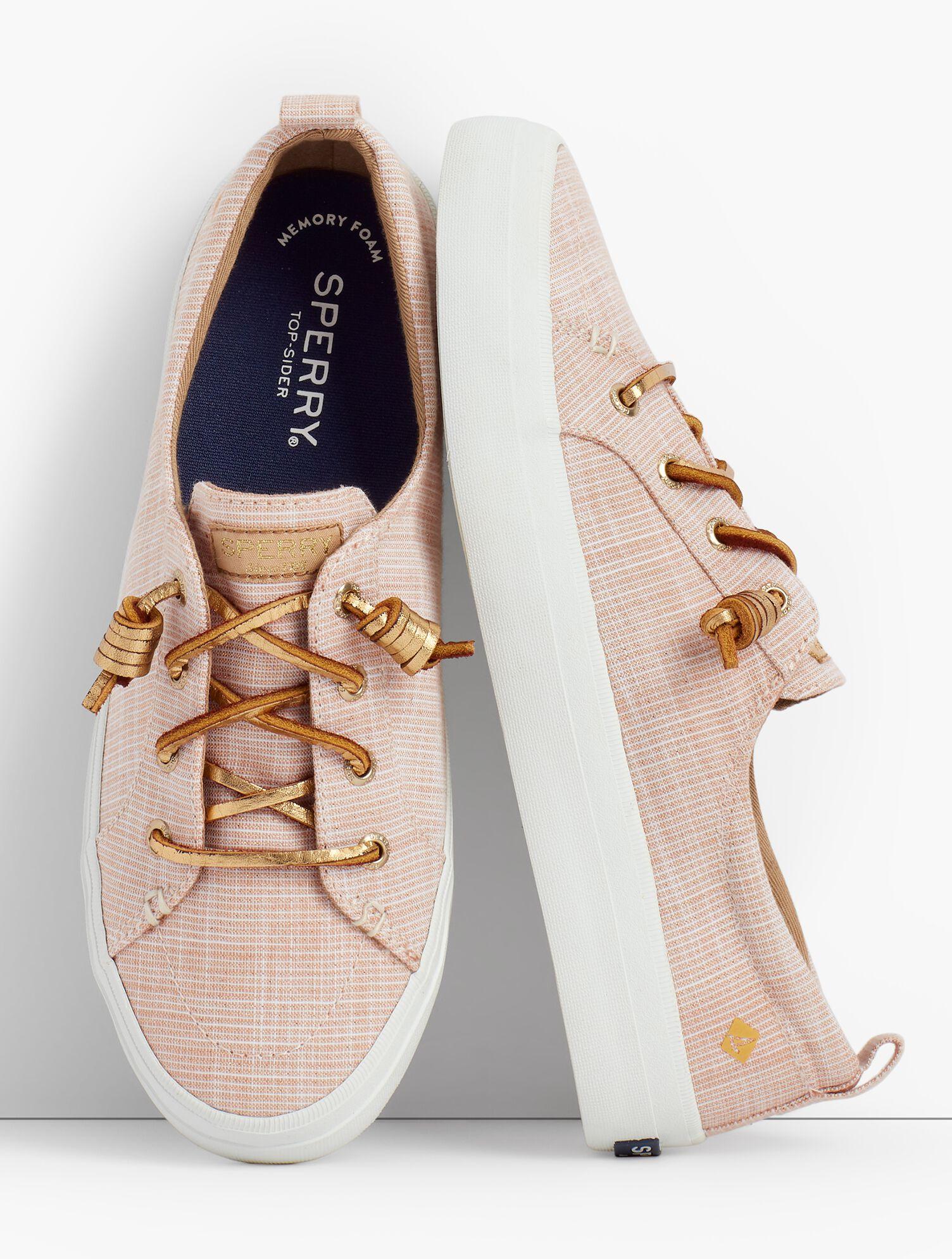 Crest Vibe Sperry® Sneakers - Metallic