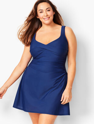 Plus Size Miraclesuit(R) Marina Swim Dress