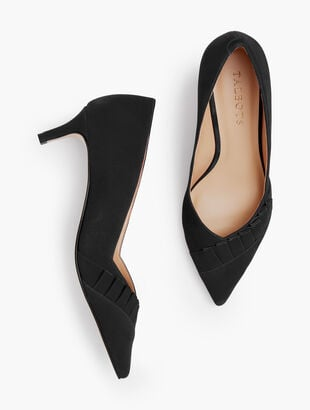 Erica Pleated Pumps - Pleated