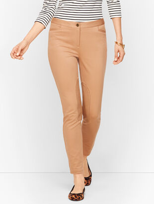 Talbots Dalton Pants - Faux-Suede Patch