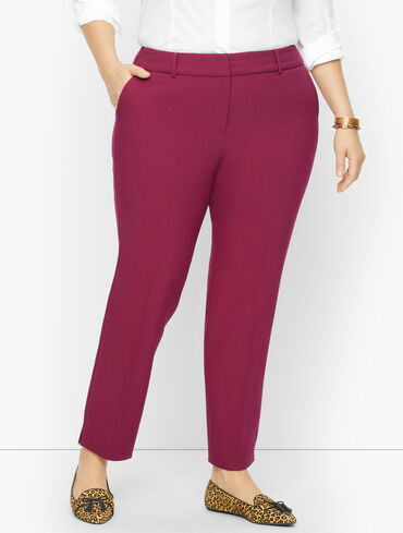 Plus Size Exclusive Talbots Hampshire Ankle Pants - Twill