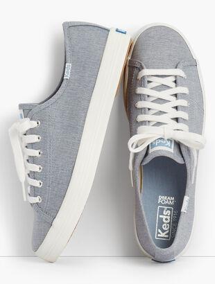 Keds™ Kickstart Sneakers - Mini Chambray