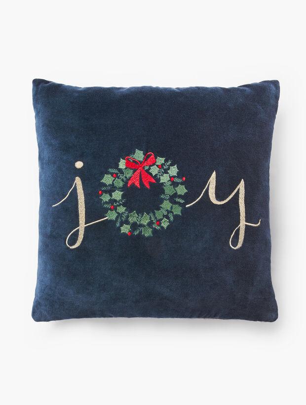 Joy Wreath Pillow