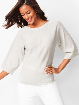 Dolman-Sleeve Sweater - Shimmer